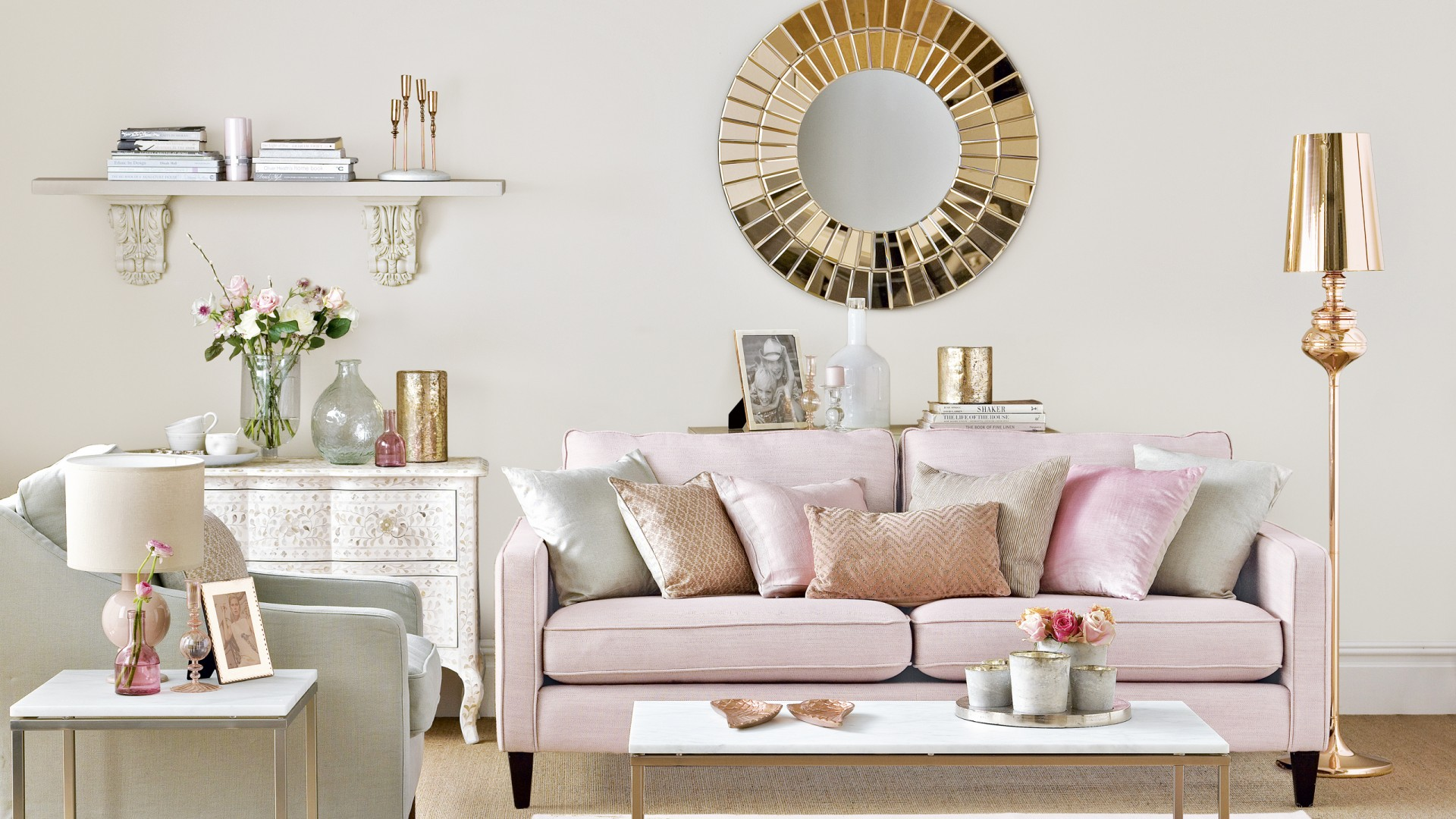 rose-gold-and-pink-living-room